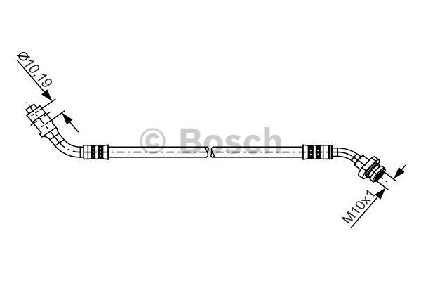 Flexible de frein - BOSCH - 1 987 481 227