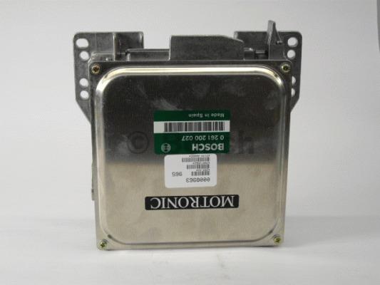 Appareil de commande, injection de carburant - BOSCH - 0 261 200 027