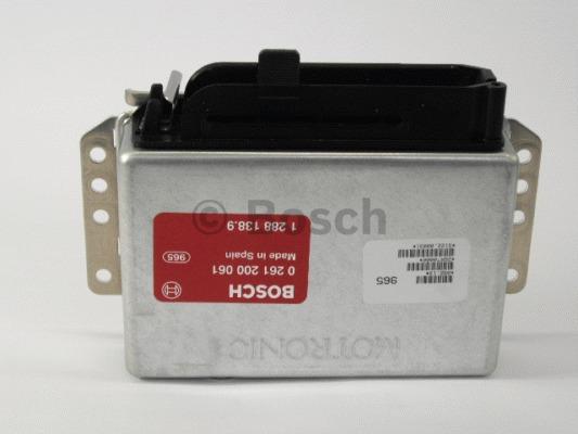 Appareil de commande, injection de carburant - BOSCH - 0 261 200 061