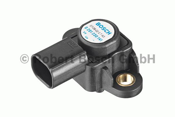Capteur, pression de suralimentation - BOSCH - 0 261 230 191