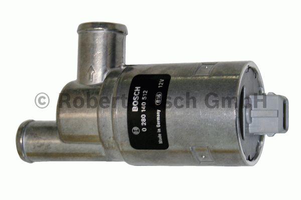 Valve de réglage du ralenti, alimentation d'air - BOSCH - 0 280 140 512
