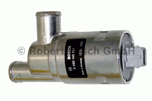 Valve de réglage du ralenti, alimentation d'air - BOSCH - 0 280 140 551
