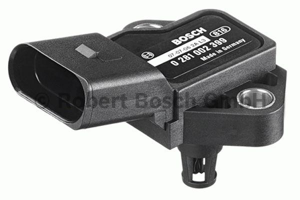 Capteur, pression de suralimentation - BOSCH - 0 281 002 399