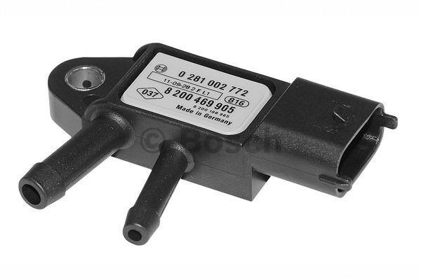 Capteur, pression des gaz échappement - BOSCH - 0 281 002 772
