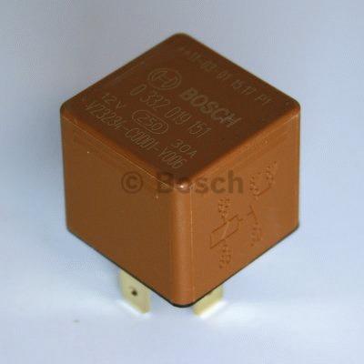 Relais, pompe à carburant - BOSCH - 0 332 019 151