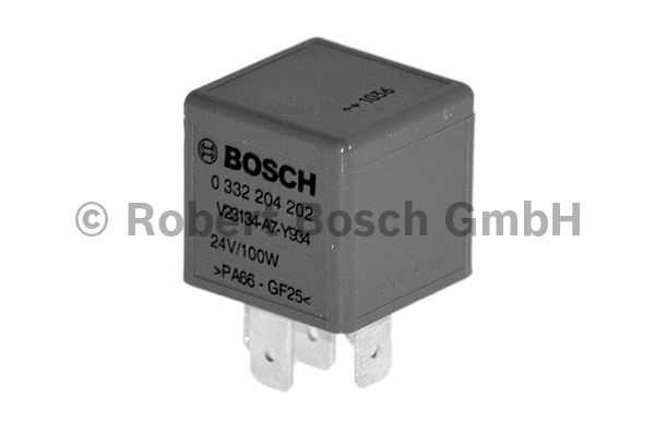 Relais, ABS - BOSCH - 0 332 204 202