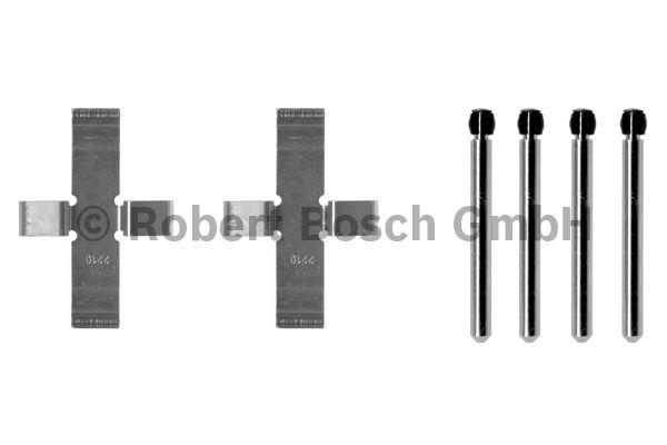 Kit d'accessoires, plaquette de frein à disque - BOSCH - 1 987 474 001