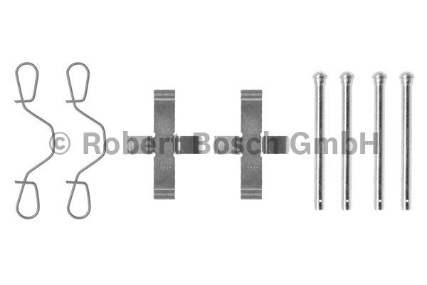 Kit d'accessoires, plaquette de frein à disque - BOSCH - 1 987 474 003