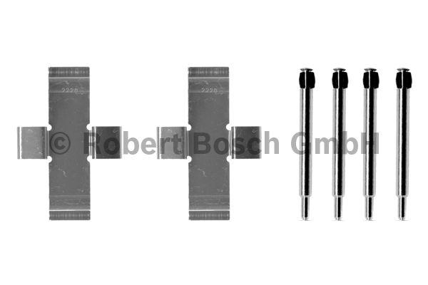 Kit d'accessoires, plaquette de frein à disque - BOSCH - 1 987 474 007