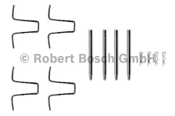 Kit d'accessoires, plaquette de frein à disque - BOSCH - 1 987 474 025