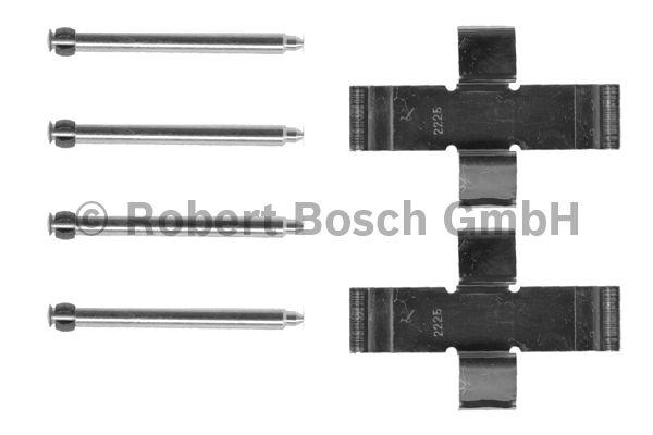 Kit d'accessoires, plaquette de frein à disque - BOSCH - 1 987 474 030