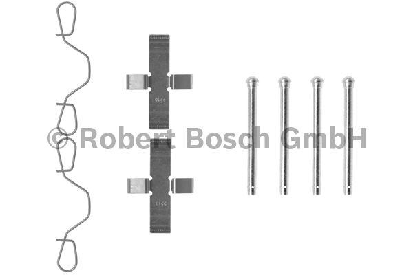 Kit d'accessoires, plaquette de frein à disque - BOSCH - 1 987 474 042