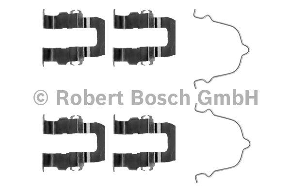 Kit d'accessoires, plaquette de frein à disque - BOSCH - 1 987 474 048