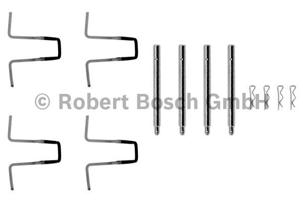 Kit d'accessoires, plaquette de frein à disque - BOSCH - 1 987 474 054