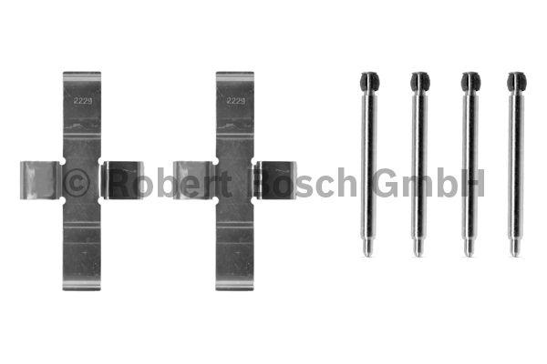 Kit d'accessoires, plaquette de frein à disque - BOSCH - 1 987 474 055