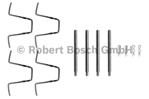Kit d'accessoires, plaquette de frein à disque - BOSCH - 1 987 474 060