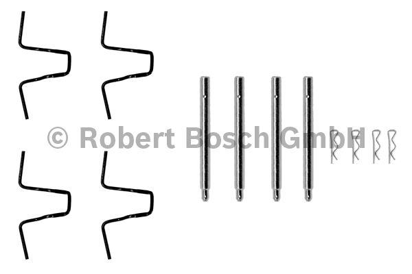 Kit d'accessoires, plaquette de frein à disque - BOSCH - 1 987 474 062