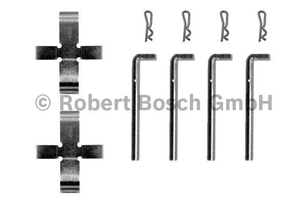 Kit d'accessoires, plaquette de frein à disque - BOSCH - 1 987 474 063