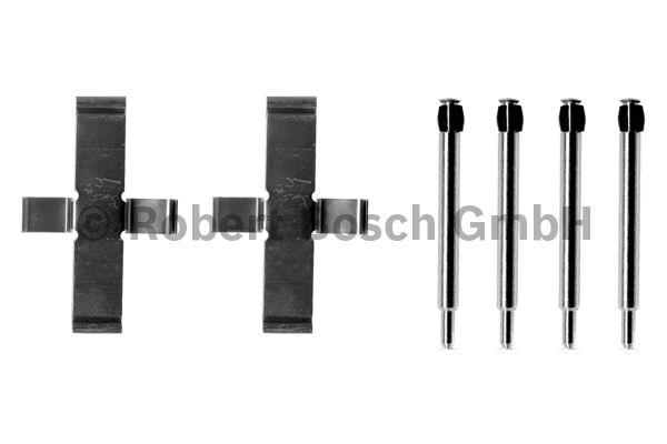 Kit d'accessoires, plaquette de frein à disque - BOSCH - 1 987 474 064