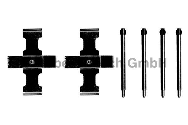 Kit d'accessoires, plaquette de frein à disque - BOSCH - 1 987 474 066