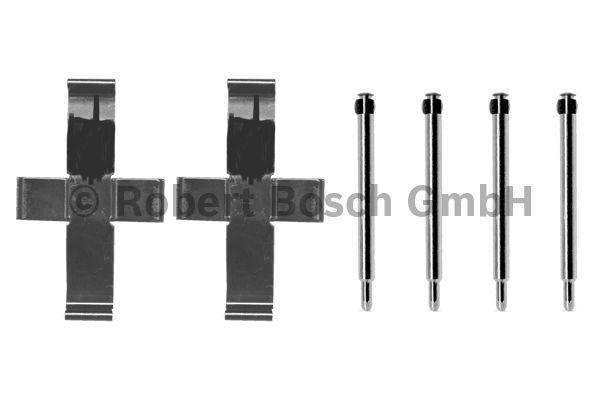Kit d'accessoires, plaquette de frein à disque - BOSCH - 1 987 474 067