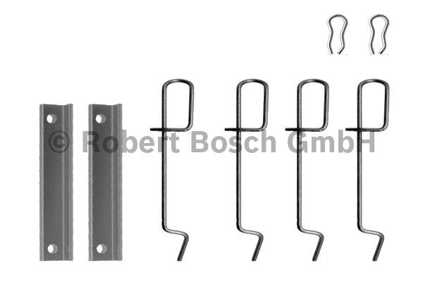 Kit d'accessoires, plaquette de frein à disque - BOSCH - 1 987 474 078