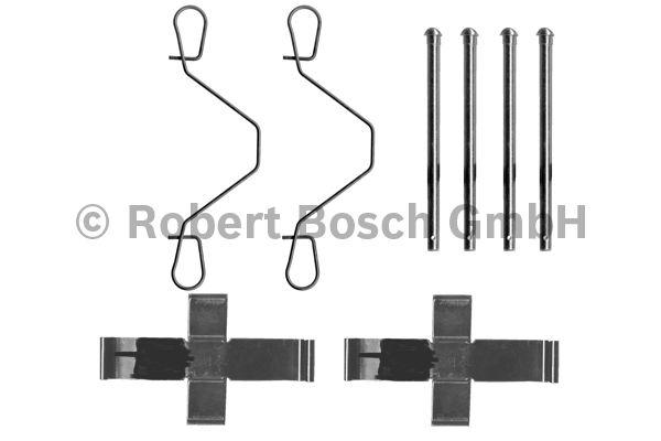 Kit d'accessoires, plaquette de frein à disque - BOSCH - 1 987 474 079