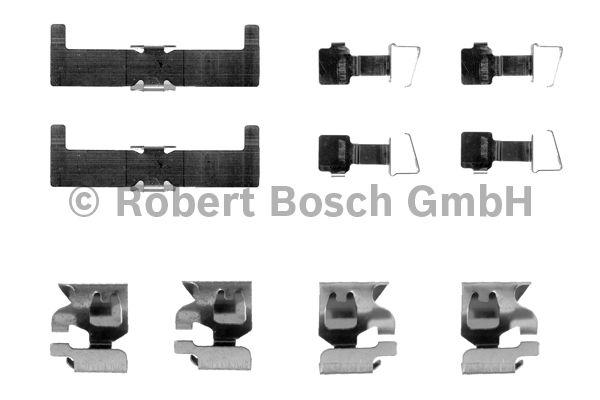 Kit d'accessoires, plaquette de frein à disque - BOSCH - 1 987 474 088
