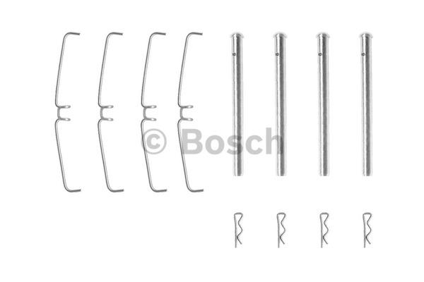 Kit d'accessoires, plaquette de frein à disque - BOSCH - 1 987 474 094