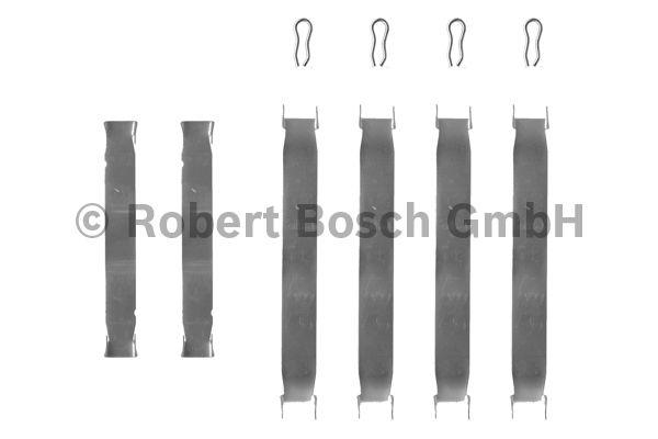Kit d'accessoires, plaquette de frein à disque - BOSCH - 1 987 474 097