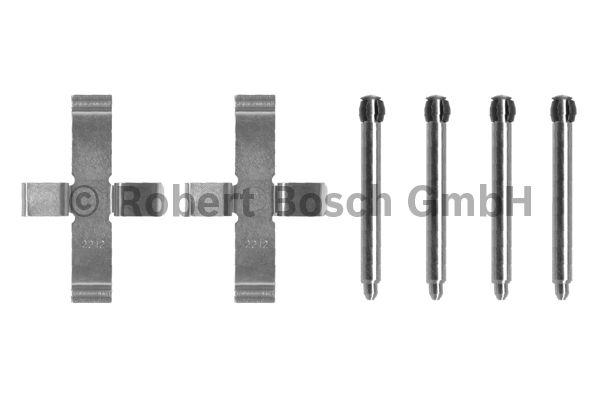 Kit d'accessoires, plaquette de frein à disque - BOSCH - 1 987 474 100