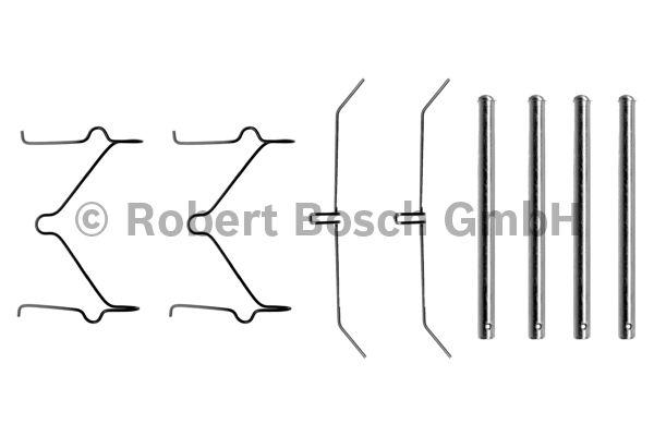 Kit d'accessoires, plaquette de frein à disque - BOSCH - 1 987 474 103