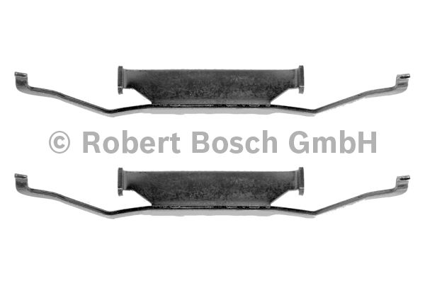 Kit d'accessoires, plaquette de frein à disque - BOSCH - 1 987 474 109