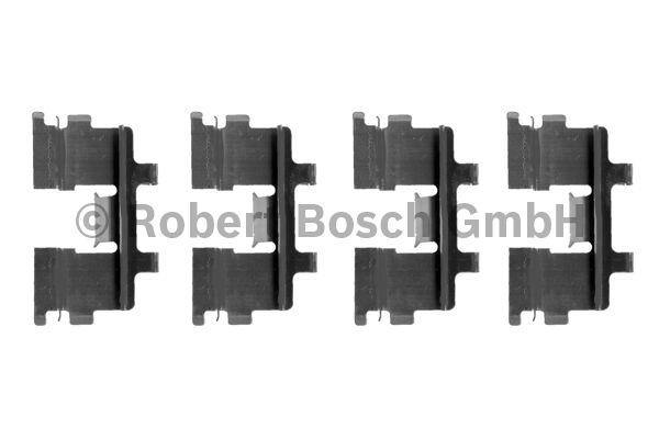 Kit d'accessoires, plaquette de frein à disque - BOSCH - 1 987 474 121