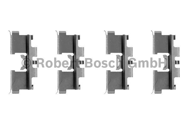 Kit d'accessoires, plaquette de frein à disque - BOSCH - 1 987 474 124