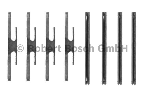 Kit d'accessoires, plaquette de frein à disque - BOSCH - 1 987 474 126