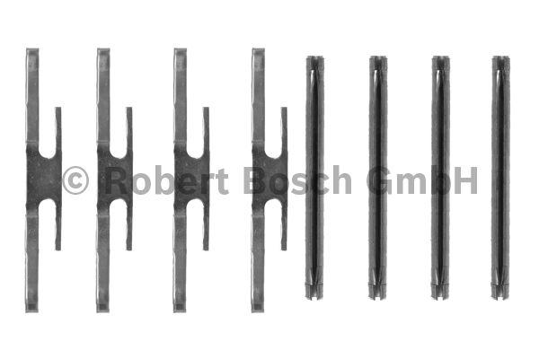 Kit d'accessoires, plaquette de frein à disque - BOSCH - 1 987 474 129