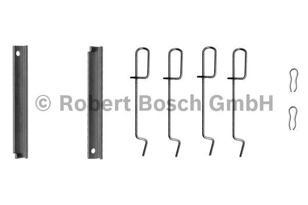 Kit d'accessoires, plaquette de frein à disque - BOSCH - 1 987 474 135