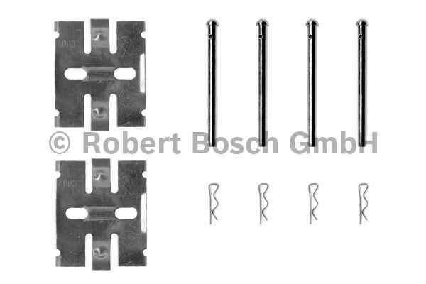 Kit d'accessoires, plaquette de frein à disque - BOSCH - 1 987 474 168