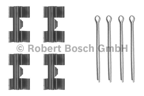 Kit d'accessoires, plaquette de frein à disque - BOSCH - 1 987 474 172