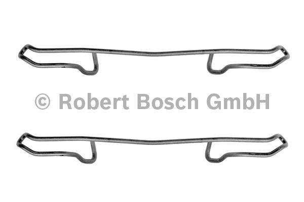 Kit d'accessoires, plaquette de frein à disque - BOSCH - 1 987 474 173