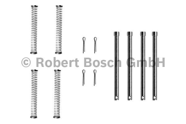 Kit d'accessoires, plaquette de frein à disque - BOSCH - 1 987 474 176