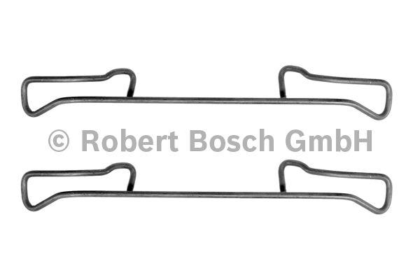 Kit d'accessoires, plaquette de frein à disque - BOSCH - 1 987 474 179