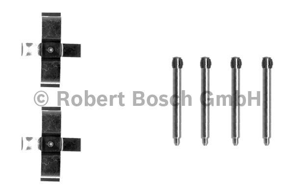 Kit d'accessoires, plaquette de frein à disque - BOSCH - 1 987 474 180