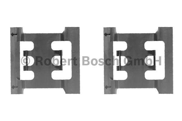 Kit d'accessoires, plaquette de frein à disque - BOSCH - 1 987 474 191