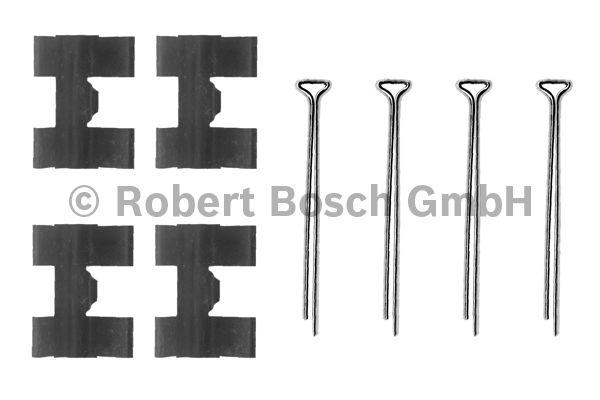 Kit d'accessoires, plaquette de frein à disque - BOSCH - 1 987 474 193