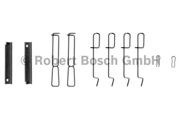 Kit d'accessoires, plaquette de frein à disque - BOSCH - 1 987 474 195