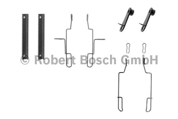 Kit d'accessoires, plaquette de frein à disque - BOSCH - 1 987 474 196