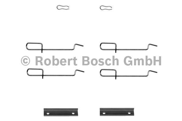 Kit d'accessoires, plaquette de frein à disque - BOSCH - 1 987 474 197