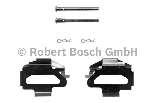 Kit d'accessoires, plaquette de frein à disque - BOSCH - 1 987 474 199